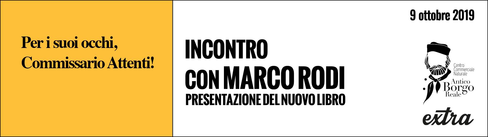 Incontro con lo scrittore Marco Rodi