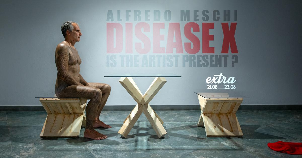 DISEASE X Is the artist present?