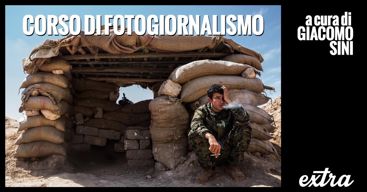 Corso di Fotogiornalismo con Giacomo Sini