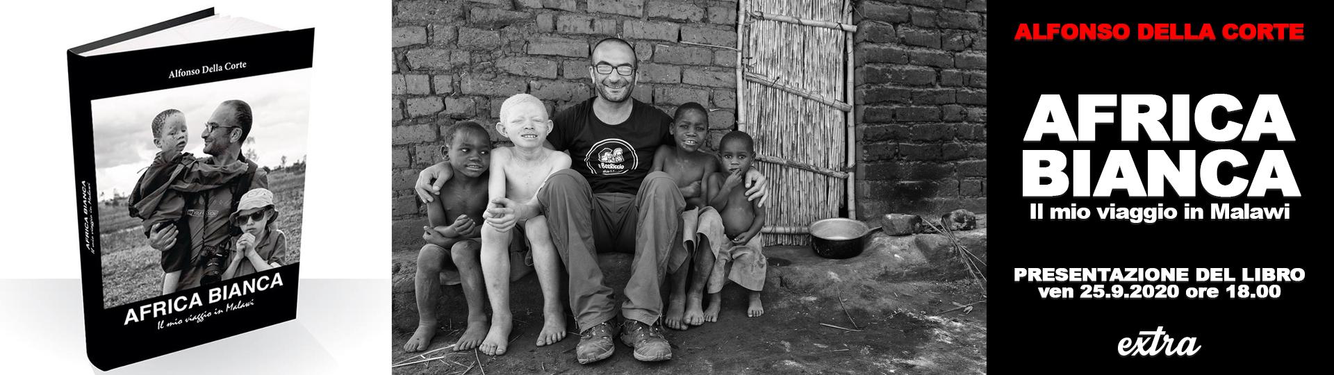 PRESENTAZIONE DEL LIBRO AFRICA BIANCA